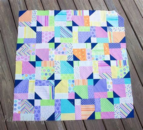 Twisted Nine Patch Quilt Pattern Free by Quilt Colors And You Are On