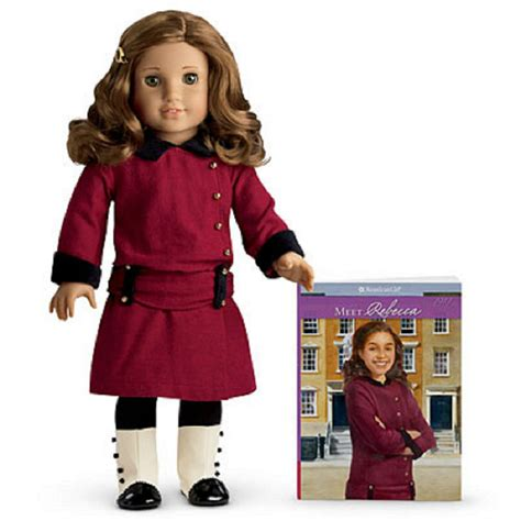 Where To Buy American Girl Gift Cards - american girl rebecca and book nib nrfb 18 inch doll retired fast shipping ebay