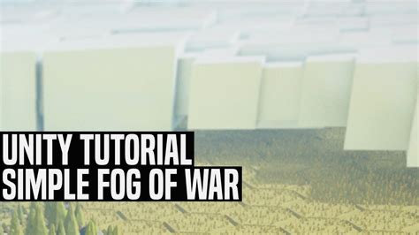 Unity Tutorial Fog Of War | unity simple low poly fog of war tutorial youtube