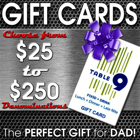 Ny Co Gift Card - table 9 gift cards make the best father s day gift ideas in westchester county ny