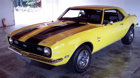 car maximum 187 archive yellow 68 camaro for sale