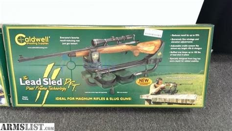 Sled Background Check Armslist For Sale Caldwell Lead Sled Dft Shooting Rest Green 336 647