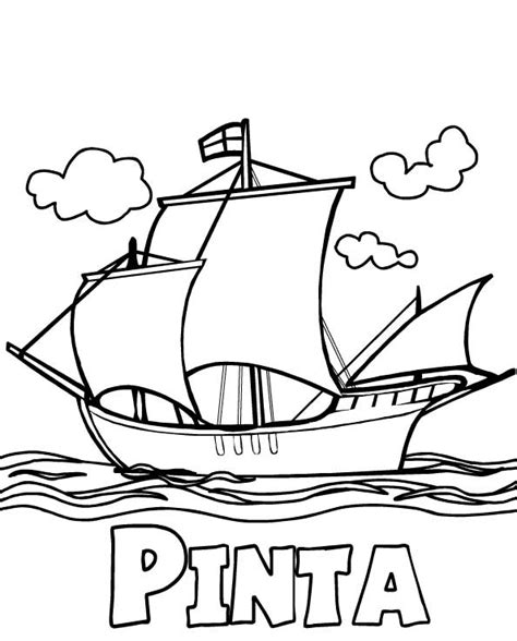 christopher columbus coloring pages coloring pages