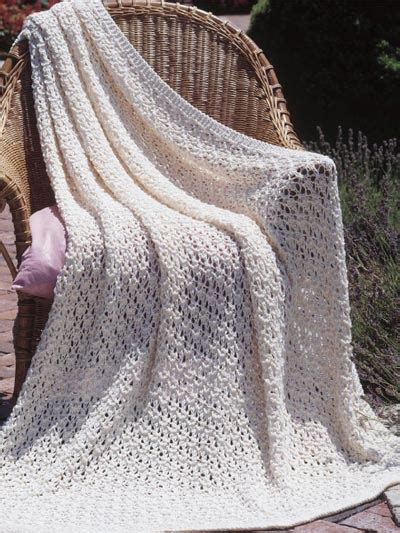how to knit a throw beginner buds afghans