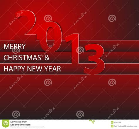 happy new year 2013 card royalty free stock image image