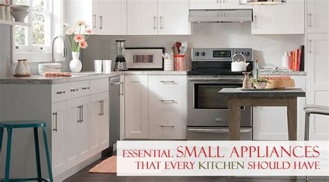 essential kitchen appliances essential small appliances that every kitchen should have