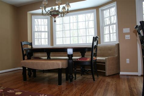dining room built in built in seating traditional dining room other metro