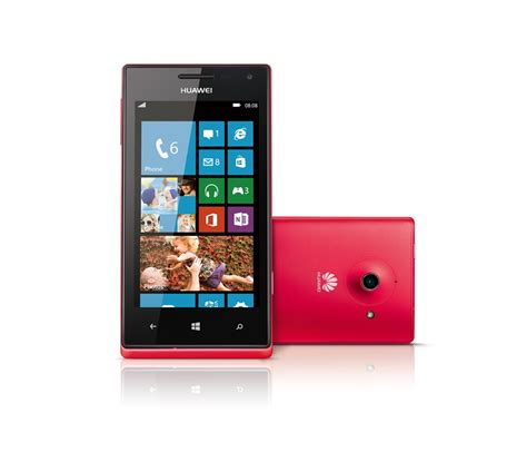 Huawei Windows Phone huawei joins the windows phone 8 family with the ascend w1