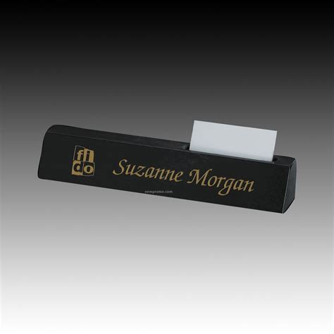 desk name plate with card holder name plates china wholesale name plates page 49