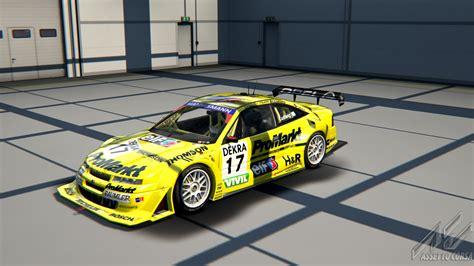 opel calibra race car opel calibra dtm 1996 for ac new previews virtualr net sim racing news