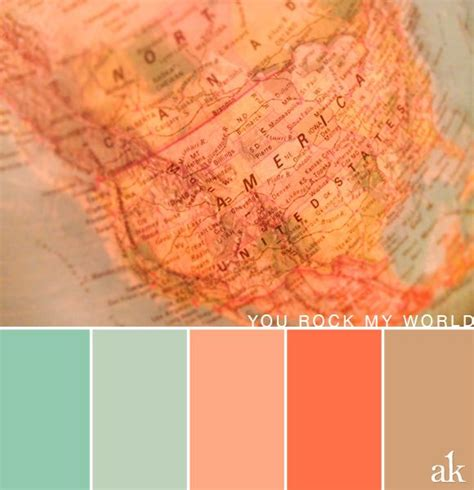 peach color schemes a globe inspired color palette pastels light teal peach tan color palette pinterest