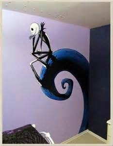 Nightmare Before Christmas Wall Mural jack n sally baby shower on pinterest 29 pins