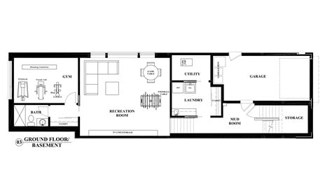 basement floor plans basement floor plan an interior design perspective on building a new house in toronto