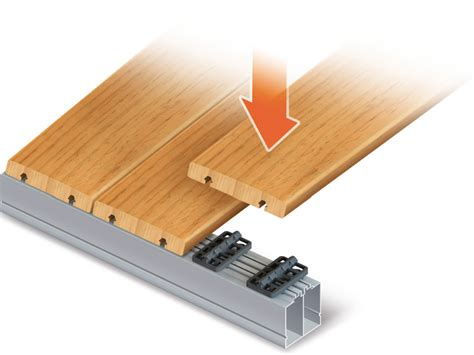 decking milling clip system perfect rail