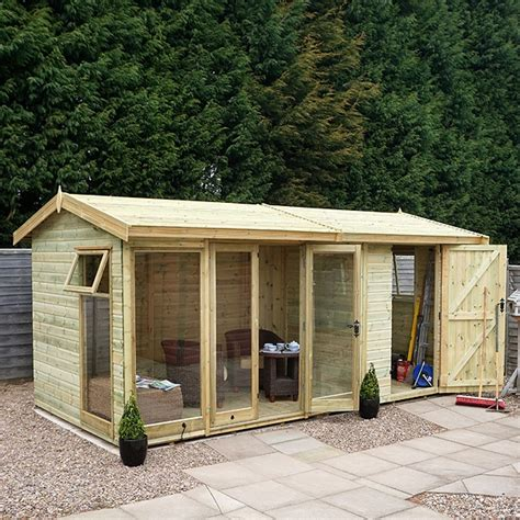 Low Shed by Cousins Conservatories Garden Buildings Special Offers