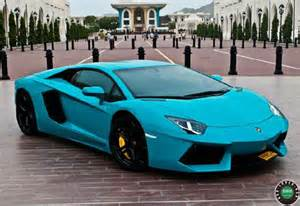 Baby Blue Lamborghini Baby Blue Lamborghini Aventador From Oman The Saudi