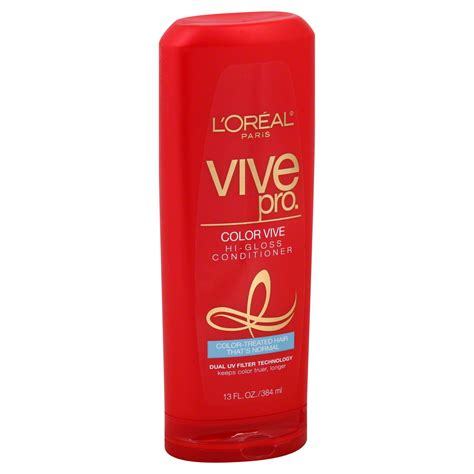Sho L Oreal Color Vive l oreal vive pro conditioner color vive hi gloss color treated hair that s normal 13 fl oz