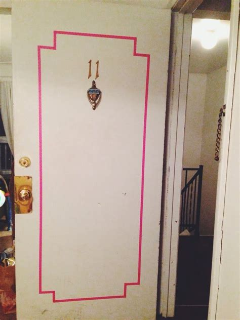 Diy Room Door Decor by Best 10 Washi Door Ideas On Bedroom Door