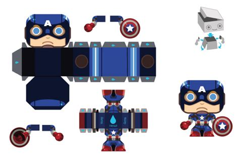 Captain America Papercraft - age of ultron papercraft iron papercraft