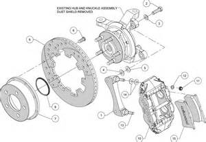 Jeep Wrangler Brake System Diagram Wilwood Disc Brake Kit Front 84 89 Jeep 12 Quot Rotors