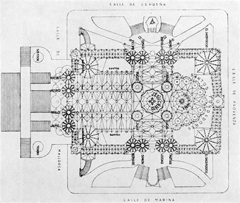 layout drawing en français the 11 secrets and mysteries of sagrada familia