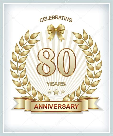 invitation anniversaire 80 ans anniversaire invitation