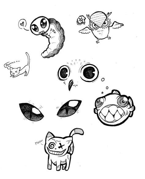 doodle animals animal doodles by jeanfreak on deviantart