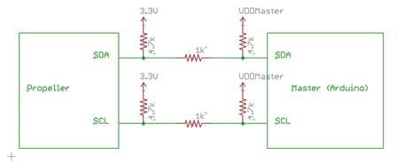 i2c pullup resistor value 5v propeller i2c interface questions 3 3v or 5v parallax forums