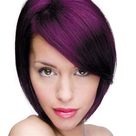 Dark purple hair color hair color trends 2017 ideas and highlights