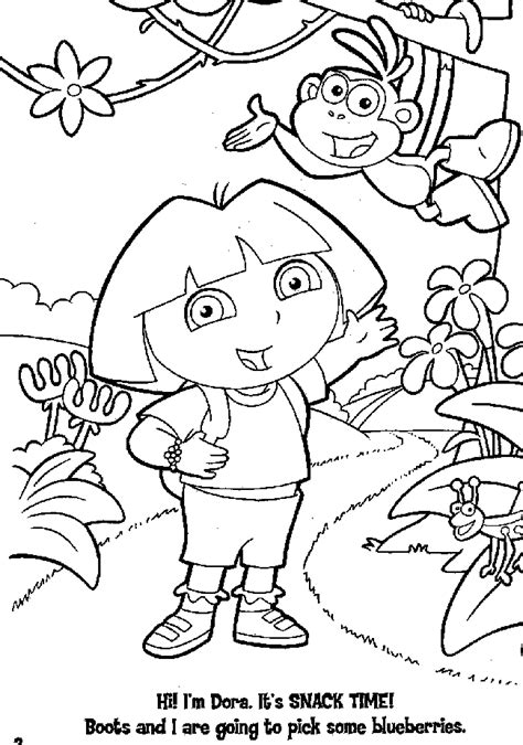 dora the explorer coloring pages nick jr easter coloring pages dora easter coloring pages