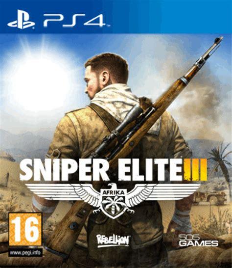 Sale Sniper Elite 4 Ps4 sniper elite 3 ps4 zavvi