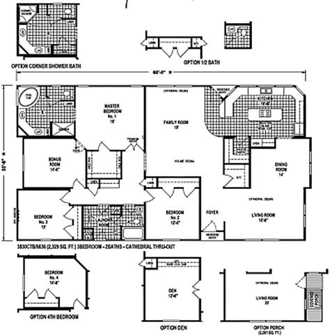 skyline floor plans skyline mobile home floor plans