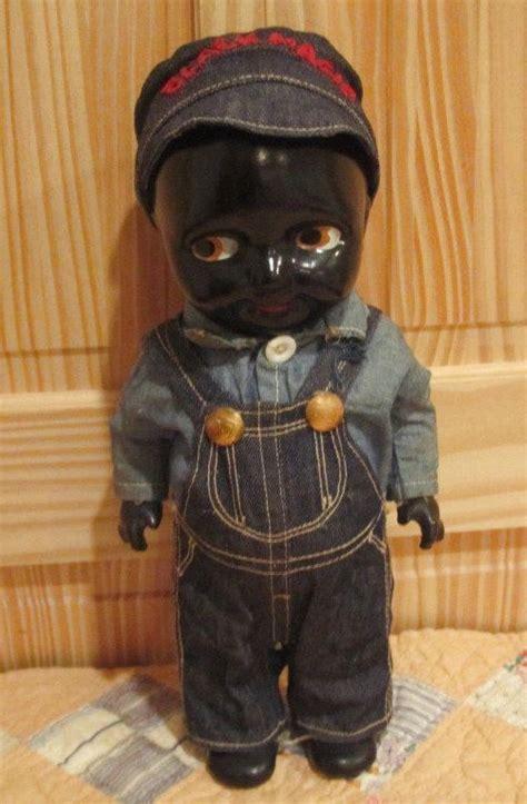 black doll black magic buddy black magic doll composition antique