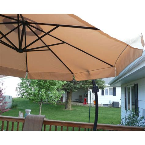 Menards Patio Umbrellas by Menards 2010 Offset Umbrella Replacement Canopy 272 0495