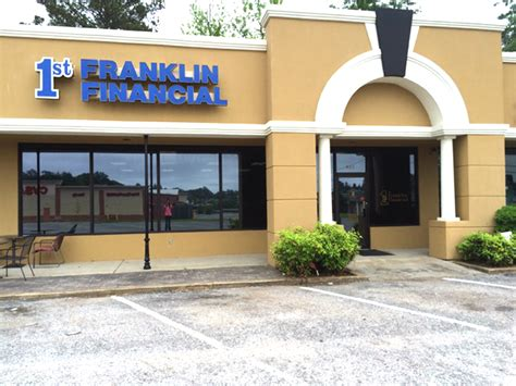 1st franklin financial in meridian ms 601 483 9
