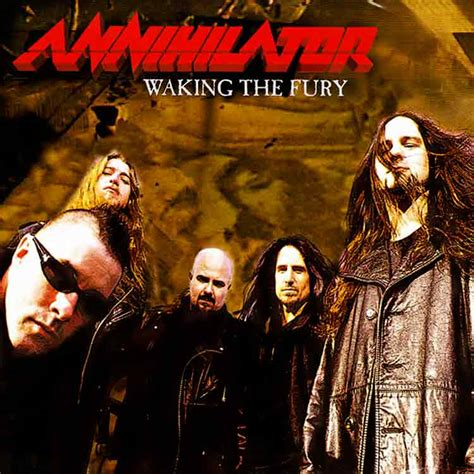 Cd Annihilator annihilator waking the fury encyclopaedia metallum the metal archives