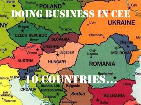 Central European Mba Requirements by Doing Business In Central And Eastern Europe