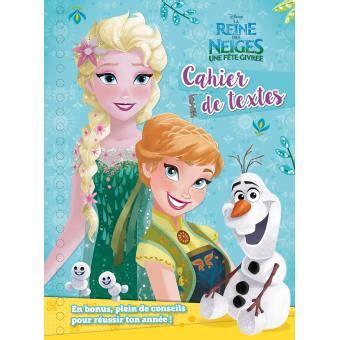 la reine des neiges la reine des neiges cahier de textes collectif broch 233 achat livre