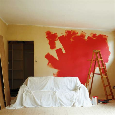 come pitturare una parete interna preparare le pareti alla tinteggiatura