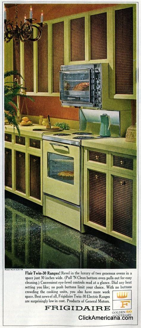 vintage mid sixties kitchens  flair ranges