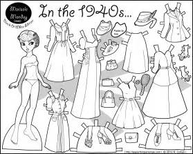 paper doll coloring pages paper doll coloring pages to and print for free