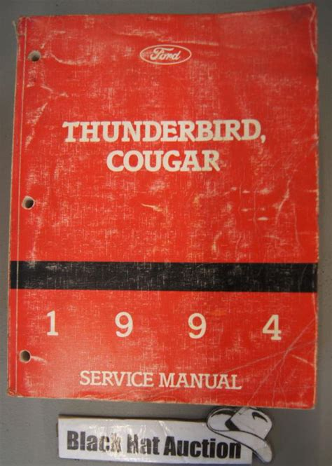 service and repair manuals 1994 mercury cougar windshield wipe control buy 1994 ford thunderbird mercury cougar factory shop service manual motorcycle in westmoreland