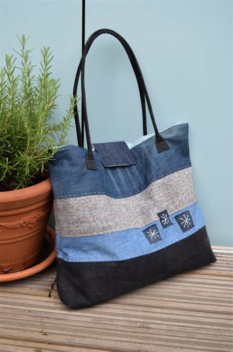 pattern for jeans bag how to make a large denim tote bag vicky myers creations