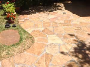 flagstone patio cleaning natural stone refinishing in