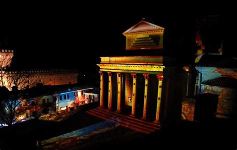 christmas light show san marino mapping 3d architectural projectors and interactive systems stark san marino lights