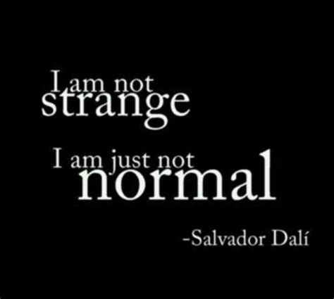 Allen Im Not A by Salvador Dali Quote Words That Matter