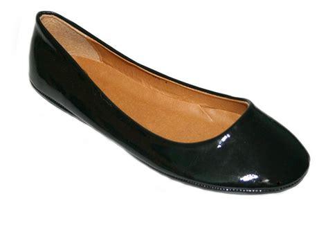 black flat ballerina dolly shoe sz uk 3 8 ebay
