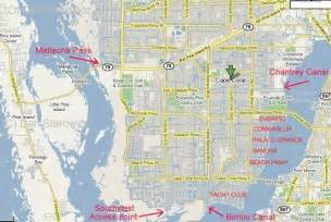 map of cape coral florida neighborhoods cape coral waterfront freshwater vs saltwater boating