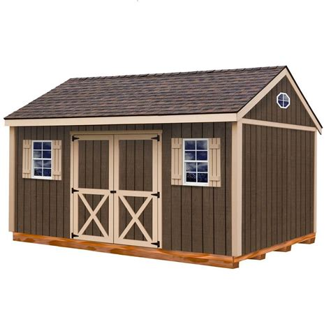 best barns brookfield 16x12 wood shed free shipping