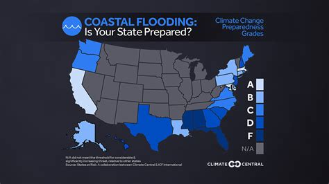 us navy global warming map is your state prepared for climate change climate central